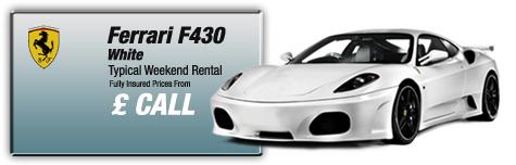 Castle Cars Private Hire - Ferrari F430 FOR HIRE