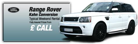 Castle Cars Private Hire - Range Rover FOR HIRE