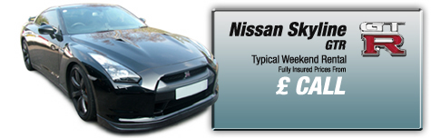 Castle Cars Private Hire - Nissan Skyline GTR2 FOR HIRE