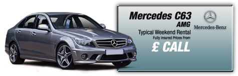 Castle Cars Private Hire - Mercedes C63 AMG FOR HIRE