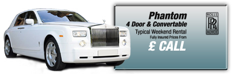 Castle Cars Private Hire - Royals Royce Phantom FOR HIRE